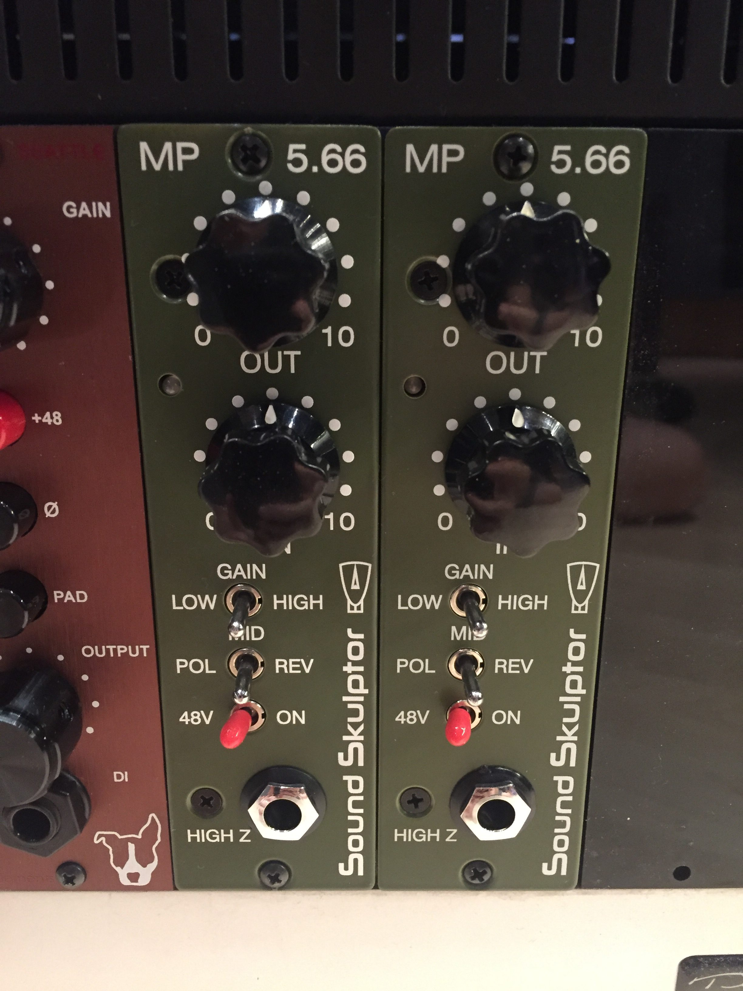 New In the Rack: SoundSkulptor MP566 | Undisclosed Location
